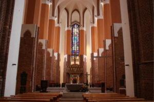 Prace renowacyjne i konserwatorskie we wnętrzu Katedry pw. św. Jakuba w Szczecinie