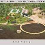 Koncepcja projektowa zagospodarowania terenów rekreacyjnych plaży miejskiej w Wolinie