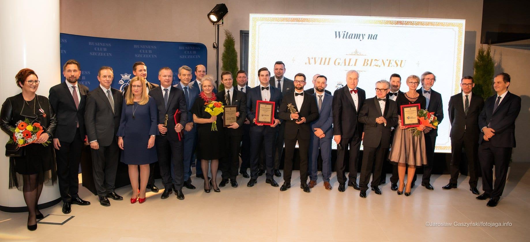 Najda Consulting zNagrodą Gospodarczą Business Club Szczecin za2019 rok!