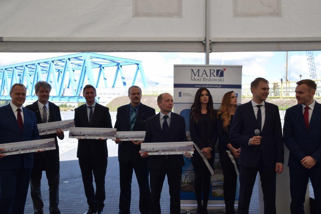Otwarcie Mostu Brdowskiego, któryskomunikował tereny inwestycyjne Gryfia Biznes Park wSzczecinie!
