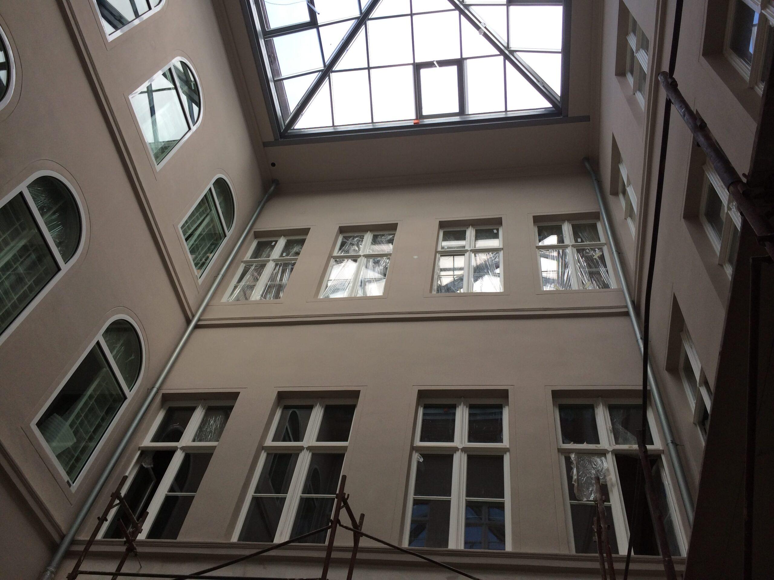 """Centrum Kulturalno-Rozrywkowe """"Warzelnia"""" – renowacja iadaptacja zabytkowego budynku przy ul.Partyzantów 2"""