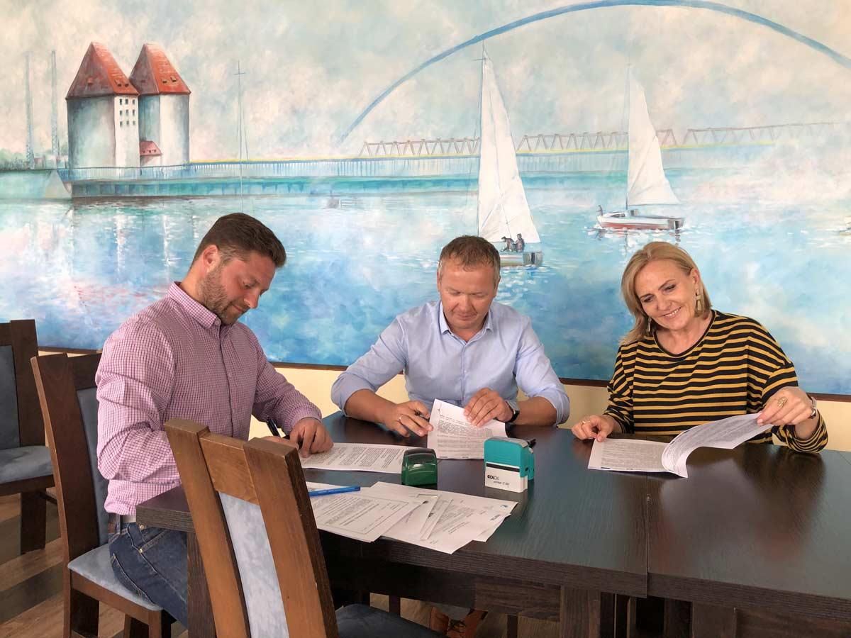 Najda Consulting podpisuje umowę napełnienie funkcji Inżyniera Kontraktu wunikatowym projekcie budowy Przystani Morskiej wWolinie