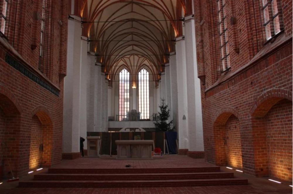 Renowacja wnętrza XIV – wiecznego kościoła p.w. św.Jana Ewangelisty wSzczecinie