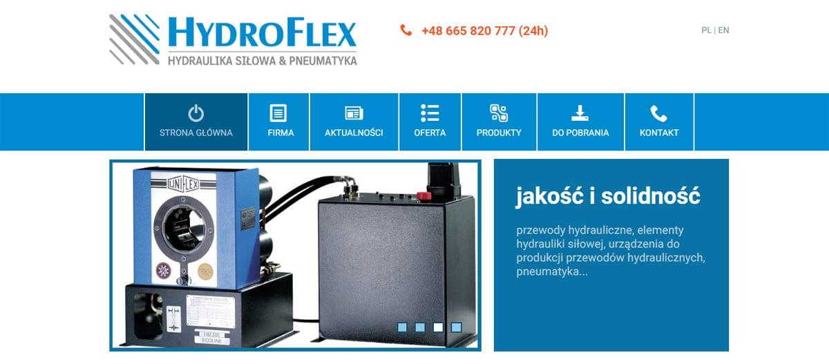 Innowacje produktowe itechnologiczne wfirmie Hydro-Flex