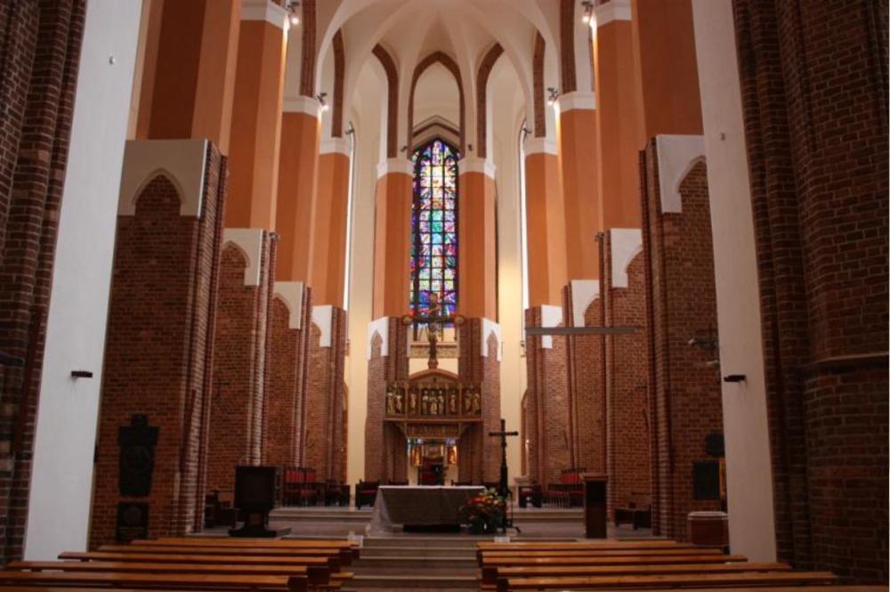 Prace renowacyjne ikonserwatorskie wewnętrzu Katedry pw.św.Jakuba wSzczecinie