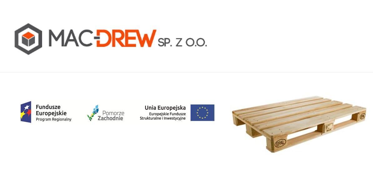 Zakład produkcyjny wBierzwniku – projekt realizowany dla Mac Drew Sp. zo.o.
