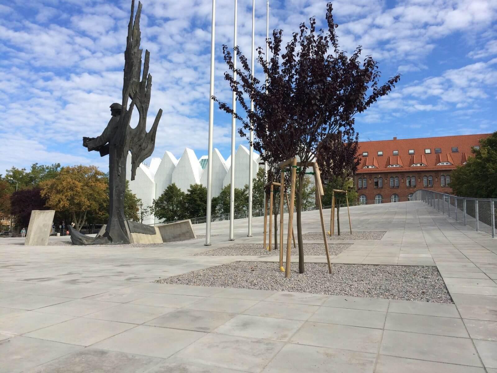 """Budowa pawilonu wystawowego """"Centrum Dialogu Przełomy"""""""