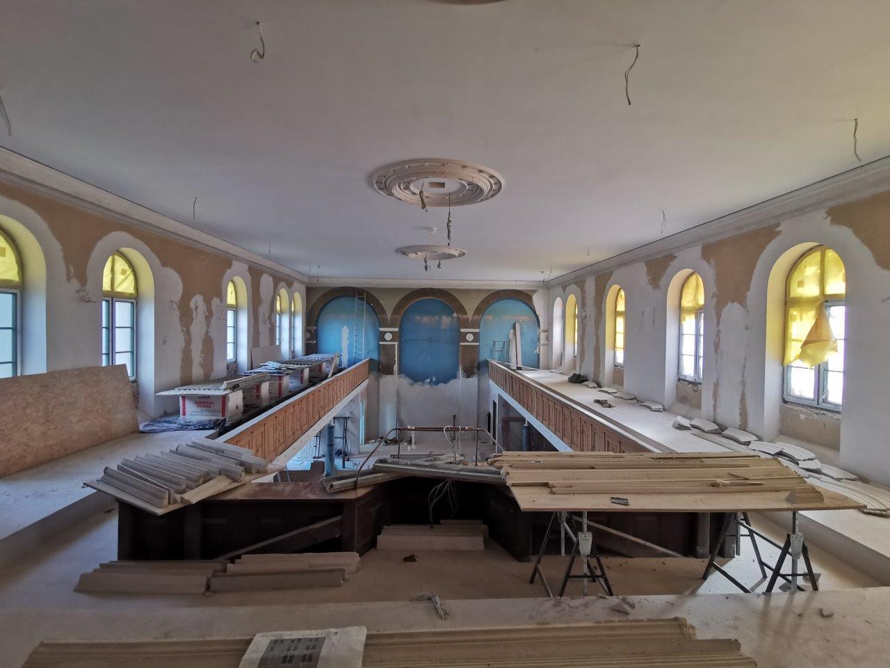 Już wkrótce zakończenie rewitalizacji zabytkowego kościoła Baptystów wSzczecinie, dzięki pozyskanej przezNajda Consulting dotacji unijnej