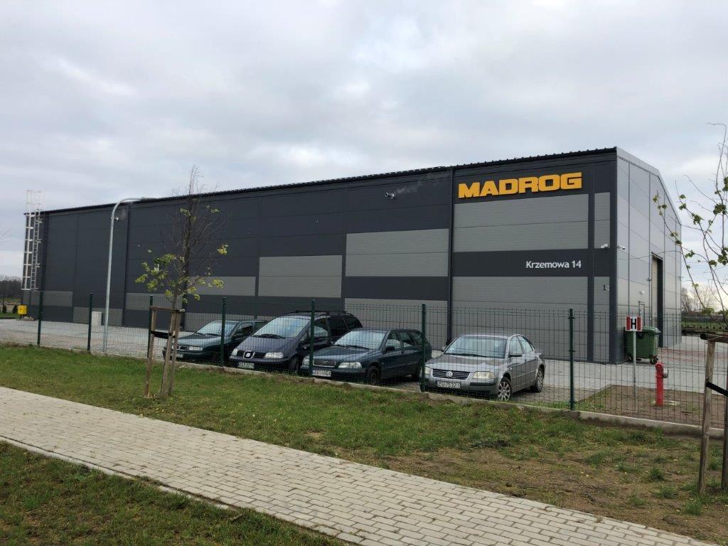 Inwestycja dla firmy Madrog zakończona!