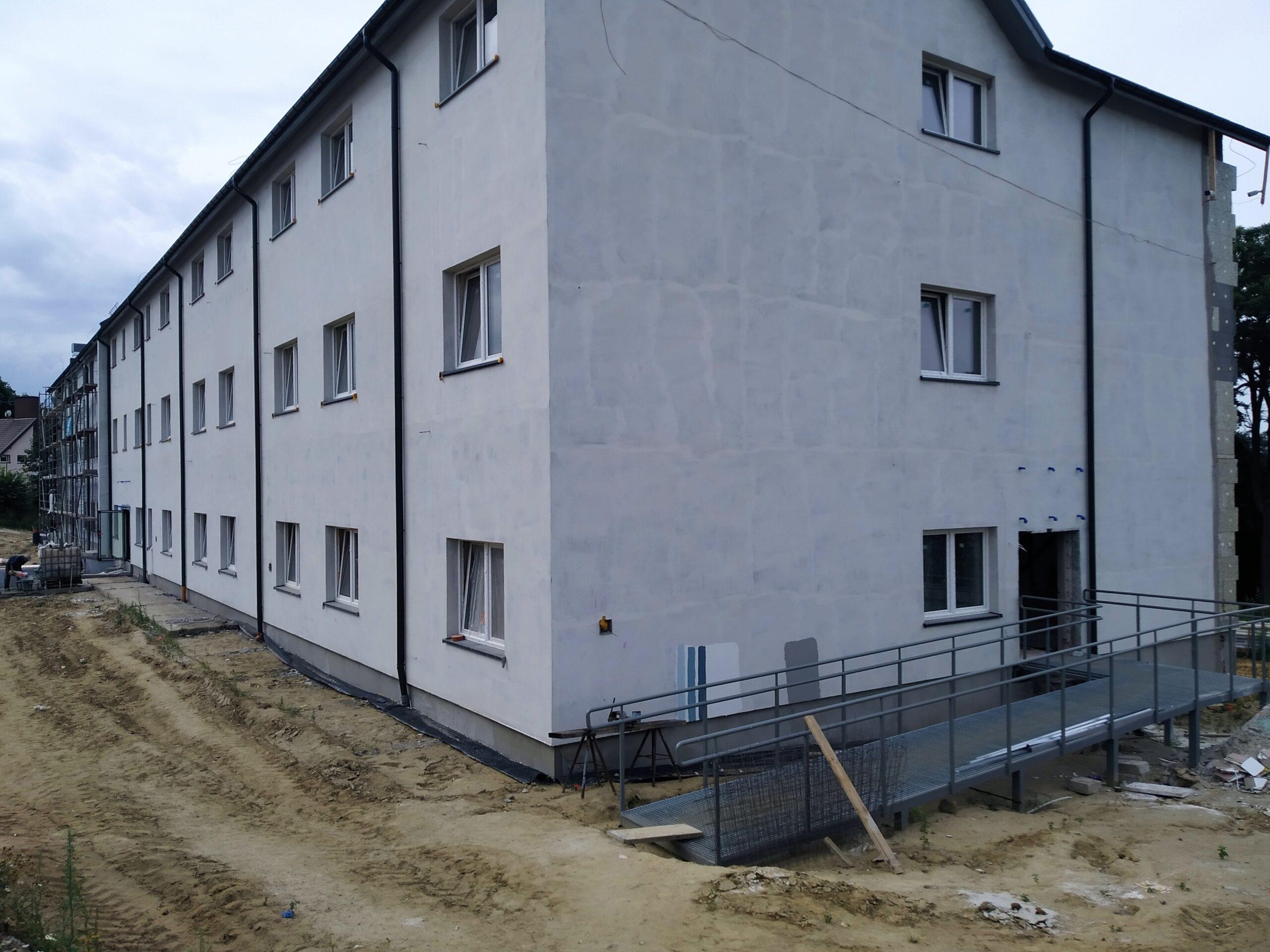Zwizytą nabudowie Międzypokoleniowego Centrum Integracji wChoszcznie